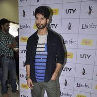 Shahid Kapoor - Shahid And Shraddha Kapoor at Haider Movie Music Launch Photos