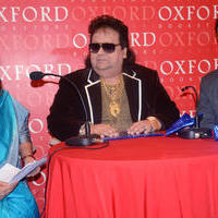 Bappi Lahiri - Bappi Lahiri launches book Life Photos