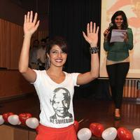 Priyanka Chopra - Gunday cast on college trail Stills