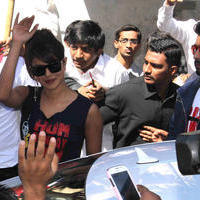 Priyanka Chopra - Star cast of film Gunday visit Gaiety Galaxy theatre Photos