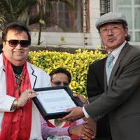 Bappi Lahiri - National Federation of UNESCO Clubs Centres and Association of Nepal choose Bappi Lahiri as goodwill ambassador Photos