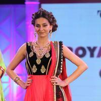 Shibani Dandekar - Celebrities walk the ramp for Retail Jeweller India Trendsetters Photos