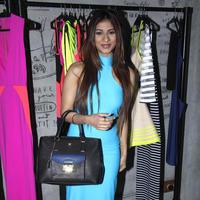 Tanisha Mukherjee - Celebrities at Fashion Designer Harsh Gupta summer collection 2014 Photos