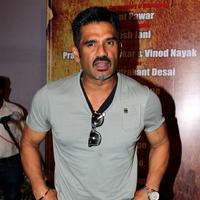 Sunil Shetty - Muhurat of Marathi film Ticha Umbartha Photos