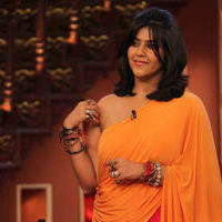 Ekta Kapoor - Promotion of film Ragini MMS 2 on the sets of Comedy Nights with Kapil Photos