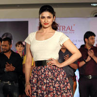 Prachi Desai - Prachi Desai walks the ramp at Central's fashion show Stills