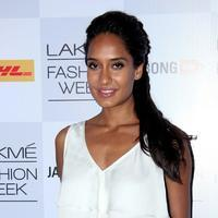 Lisa Haydon - Lakme Fashion Week Summer Resort 2014 Day 1 Photos