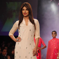 Priyanka Chopra - Lakme Fashion Week Summer Resort 2014 Day 6 Photos