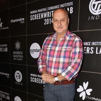 Anupam Kher - Third annual Mumbai Mantra Sundance Institute Screenwriters Lab Stills