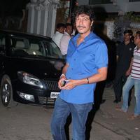 Chunky Pandey - Filmmaker Karim Morani Birthday Party Photos