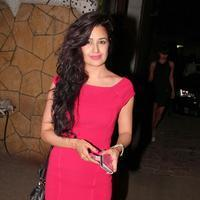 Yuvika Chaudhary - Filmmaker Karim Morani Birthday Party Photos