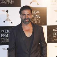 Akshay Kumar - Sonam & Katrina at L'Oreal Paris Femina Women Awards 2014 Photos