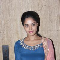 Bindu Madhavi - Anchor Ramya & Aparajith Wedding Reception Photos