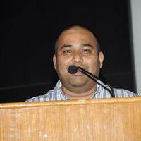 C. V. Kumar - Sarabham Movie Press Meet Stills