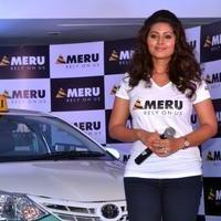 Sneha - Actress Sneha Launches Meru Cab in Chennai City Photos