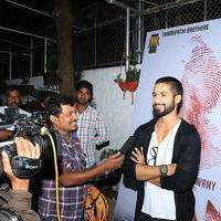 Shahid Kapoor - Inam Movie Premier Show at Mumbai Photos