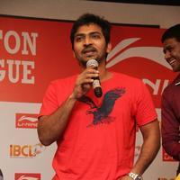 Vaibhav Reddy - Indian Badminton Celebrity League Press Meet Photos