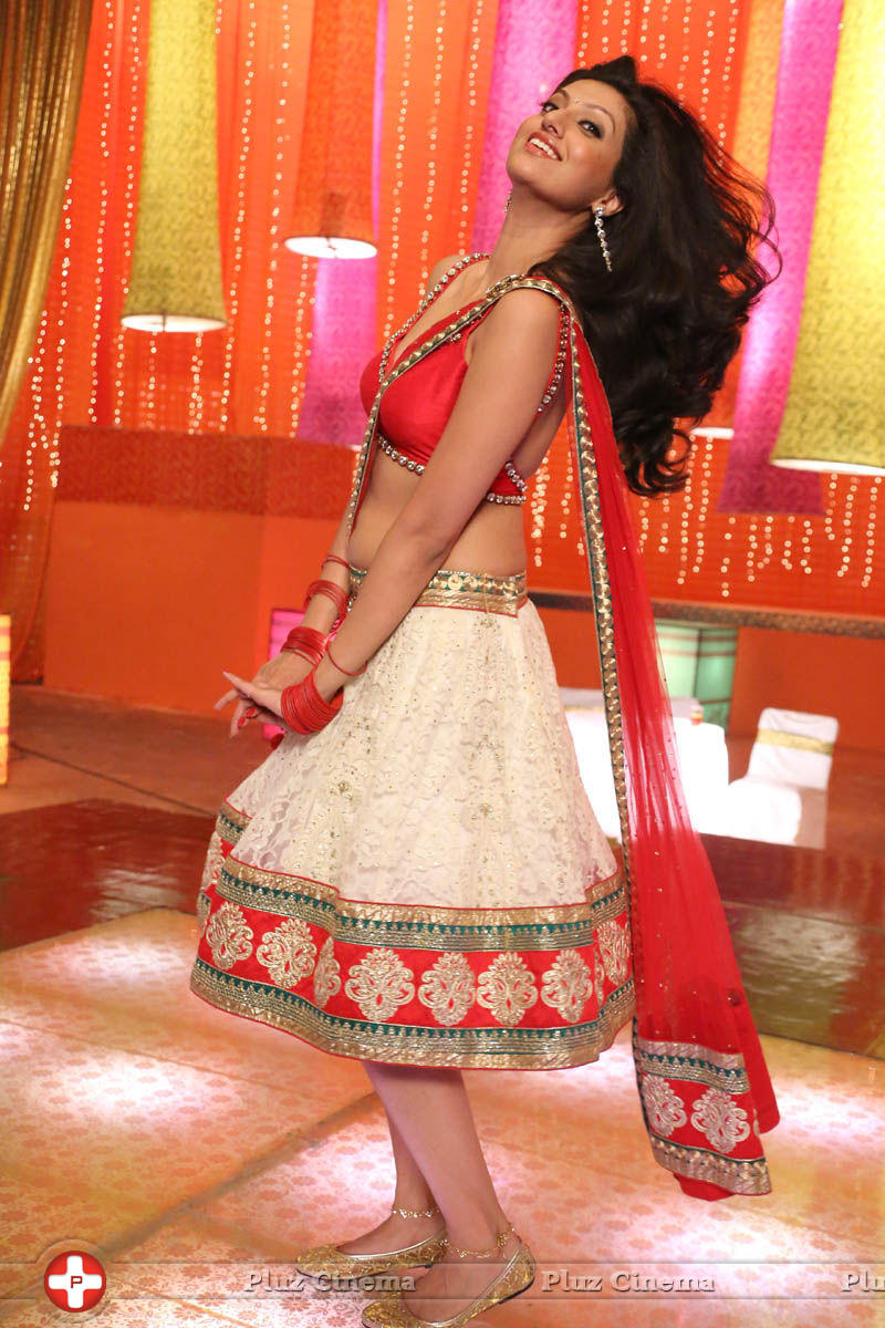 Hamsa Nandhini in Loukyam Movie Photos