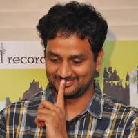 Srinivas Avasarala - Oohalu Gusagusalade Movie Team Cake Cutting Photos