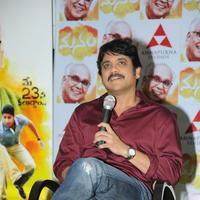 Nagarjuna Akkineni - Manam Movie Success Meet Stills   Picture 762429