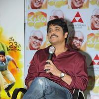 Nagarjuna Akkineni - Manam Movie Success Meet Stills   Picture 762431