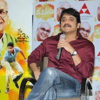 Nagarjuna Akkineni - Manam Movie Success Meet Stills   Picture 762434