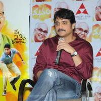 Nagarjuna Akkineni - Manam Movie Success Meet Stills   Picture 762435