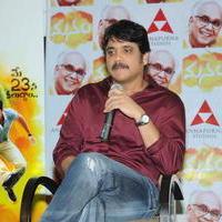 Nagarjuna Akkineni - Manam Movie Success Meet Stills   Picture 762436