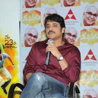 Nagarjuna Akkineni - Manam Movie Success Meet Stills   Picture 762439