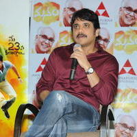 Nagarjuna Akkineni - Manam Movie Success Meet Stills   Picture 762441