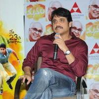 Nagarjuna Akkineni - Manam Movie Success Meet Stills   Picture 762445