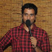 Srinivas Avasarala - Oohalu Gusagusalade Team Gifts I Phone 5S To Radio Mirchi Contest Winner Photos